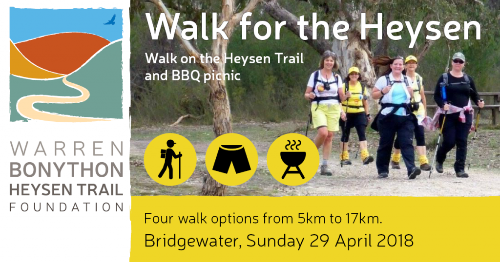 Walk for the Heysen 2018